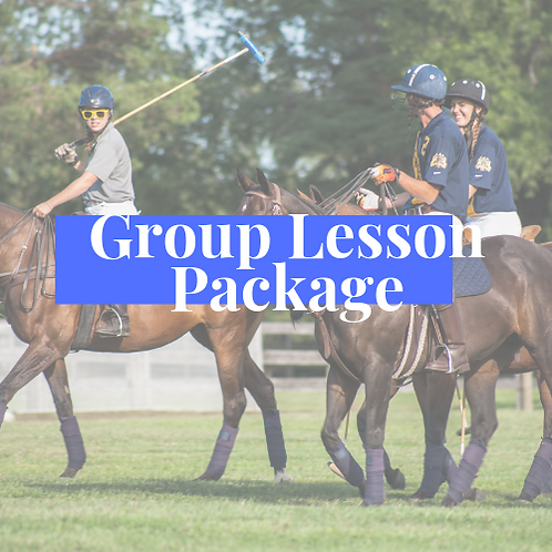 Group Lesson Package