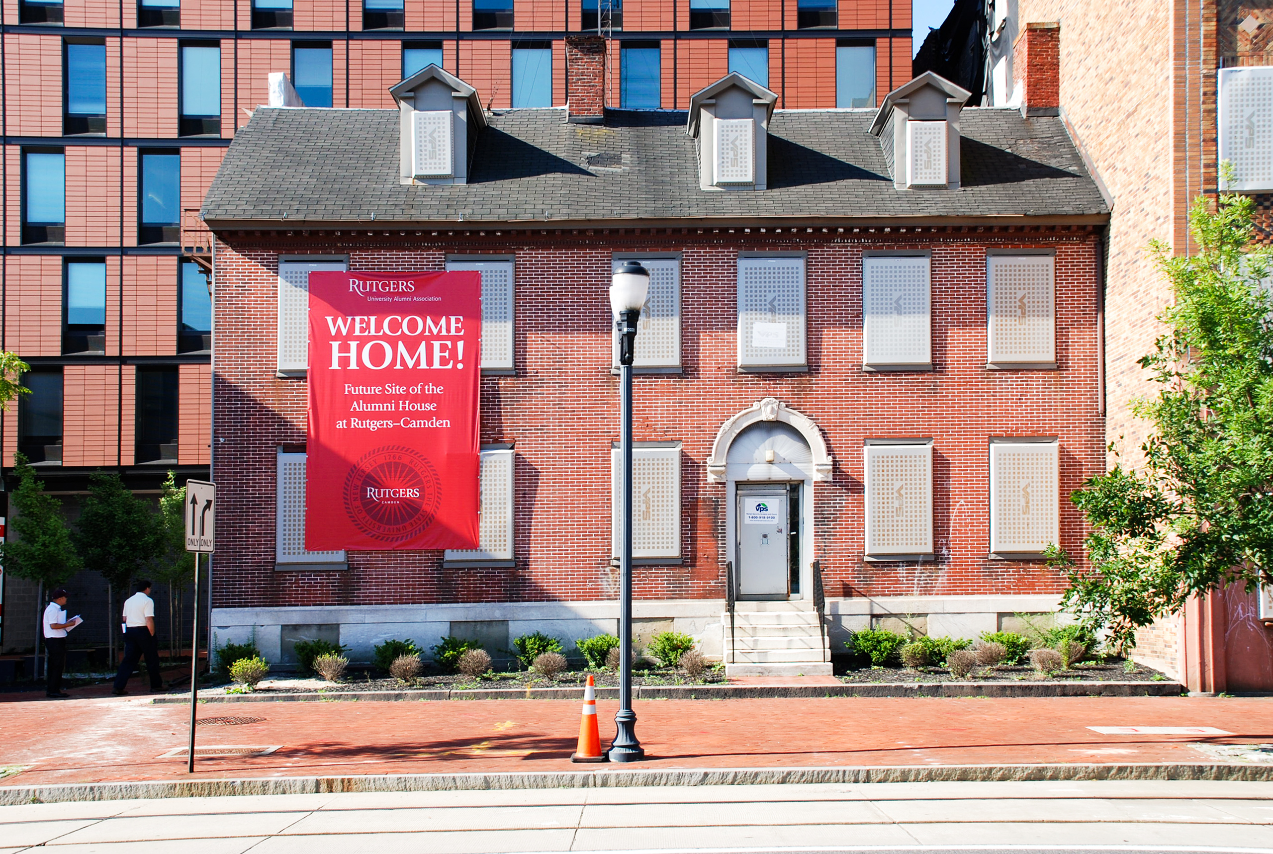 Rutgers-Entrance---Before