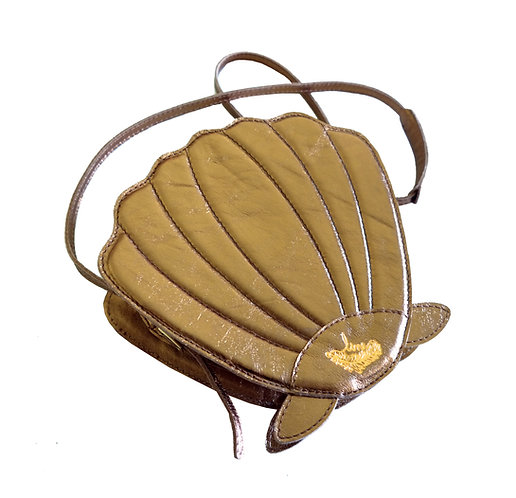 Bolsa Seashell Couro Line Store Leather - Cores Variadas