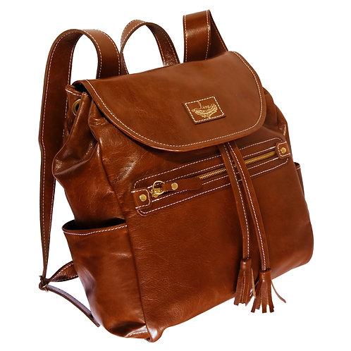 Mochila Louise Couro Line Store Leather - Cores Variadas