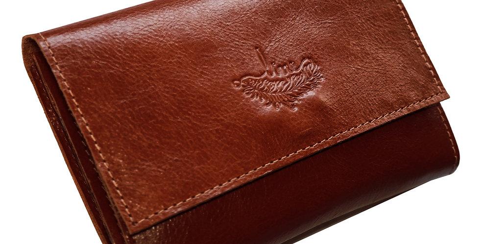 Carteira Line Store Leather II Couro - Cores Variadas