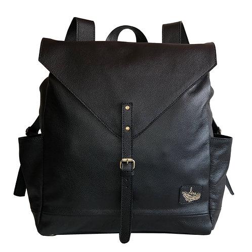 Mochila London Couro Line Store Leather - Cores Variadas