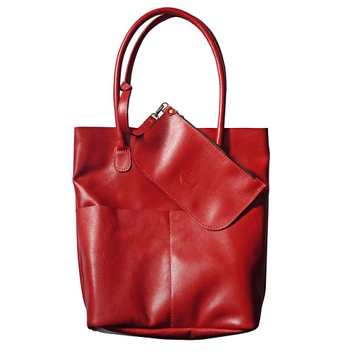 Bolsa Sacola Shopper N1 Bolsos Couro Line Store Leather - Cores Variadas