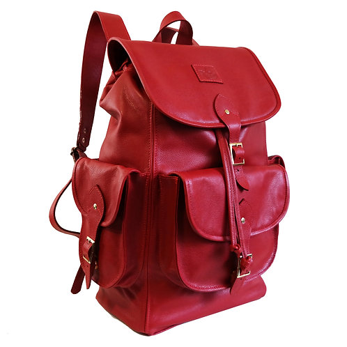 Mochila Wanderlust Couro Line Store Leather - Cores Variadas