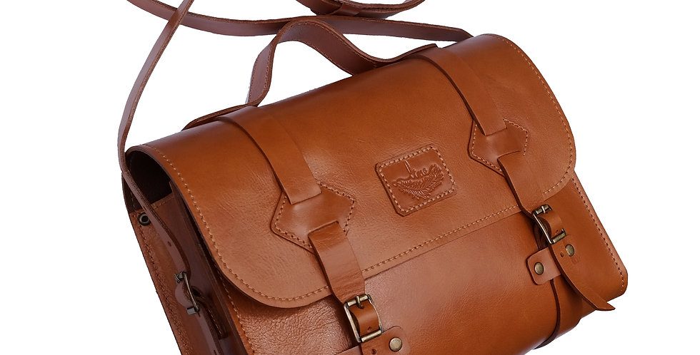 Bolsa e Pasta Satchel Oregon Line Store Leather - Cores Variadas