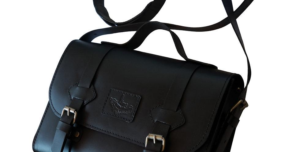 Bolsa e Pasta Satchel Oregon Line Store Leather - Linha Premium