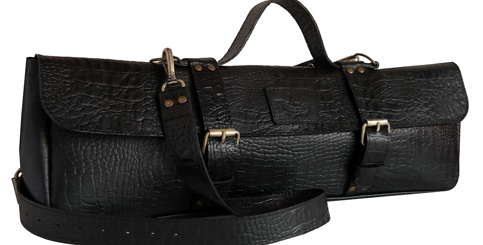 Bolsa Case para flauta Couro Line Store Leather - Cores Variadas