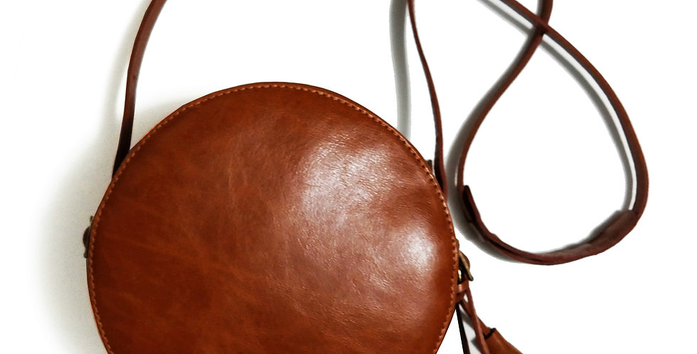 Bolsa Moon Couro Line Store Leather - Cores Variadas