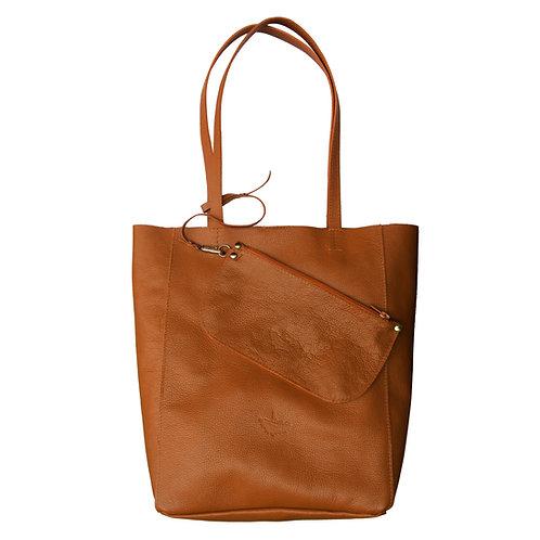 Bolsa Sacola Shopper N1 Couro Line Store Leather - Cores Variadas