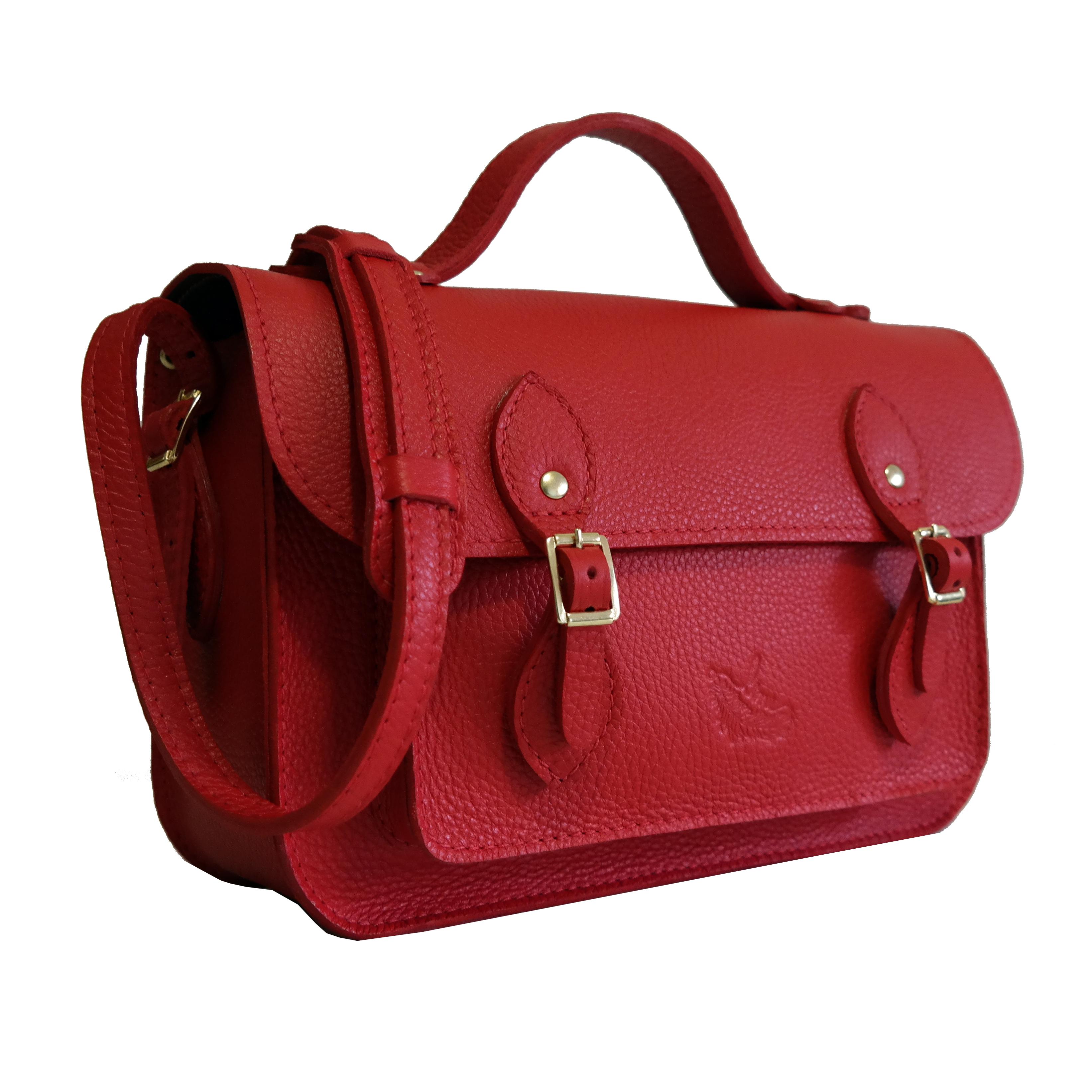 Bolsa Couro Satchel Bag P