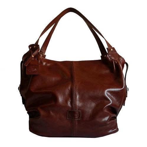 Bolsa Sacola Malu Couro Line Store Leather - Cores Variadas