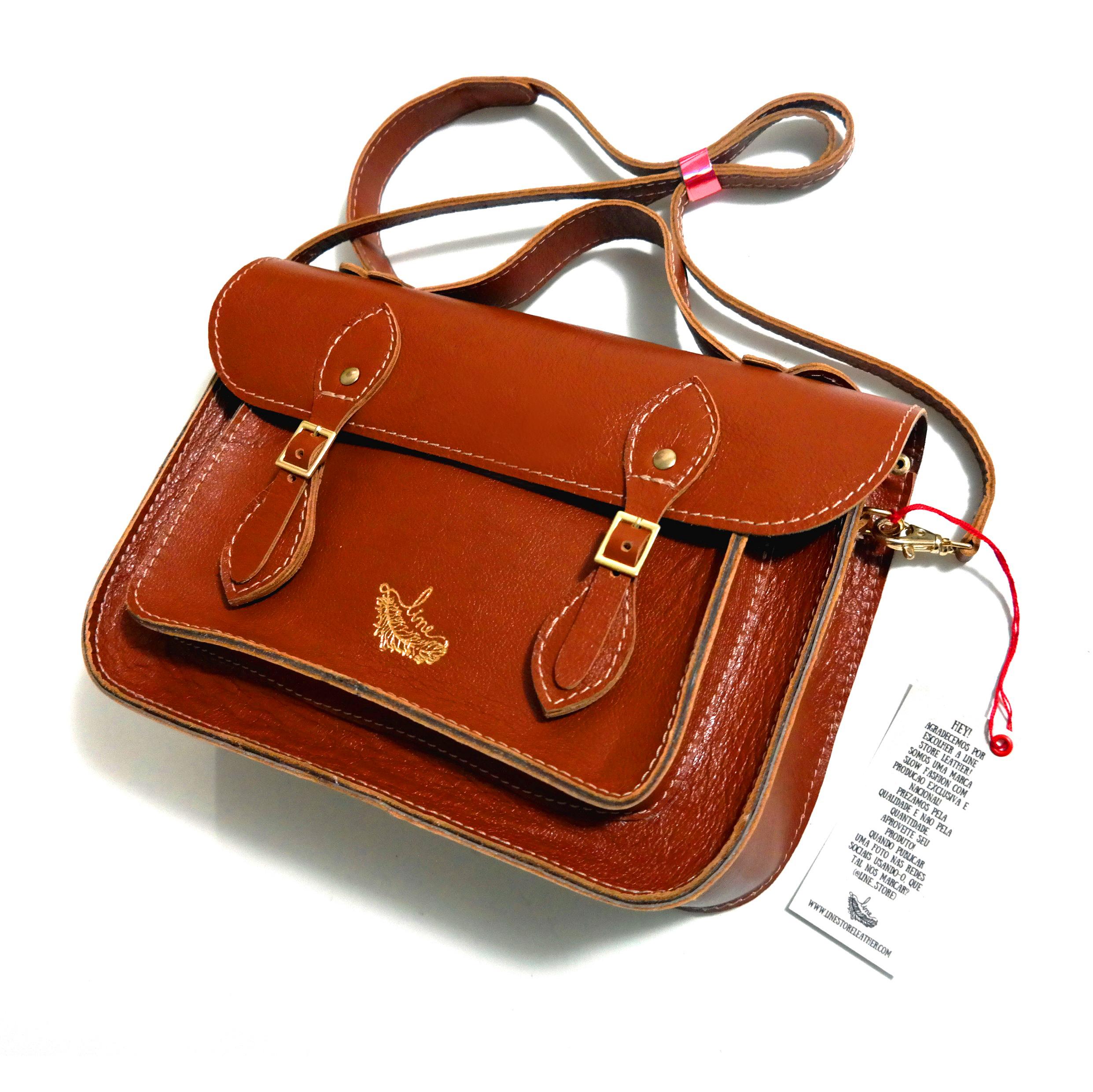 Bolsa Couo Line Satchel Bag