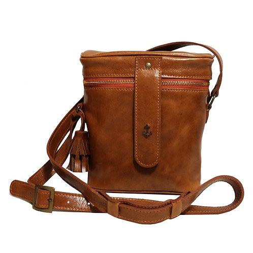 Bolsa Cantil Couro Line Store Leather - Cores Variadas