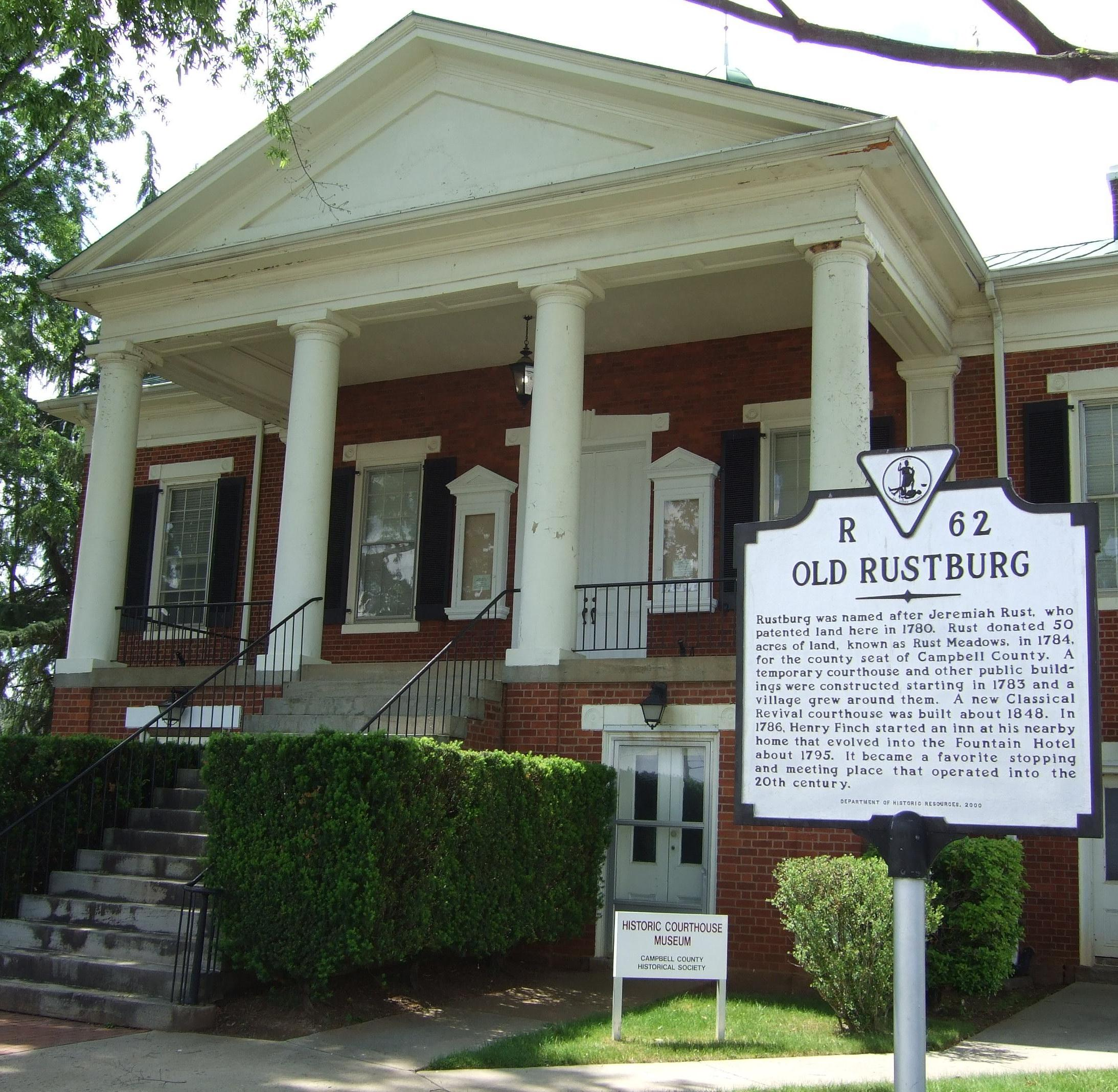 Historic Courthouse - Rustburg (1)