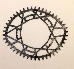 custom design oval chainring