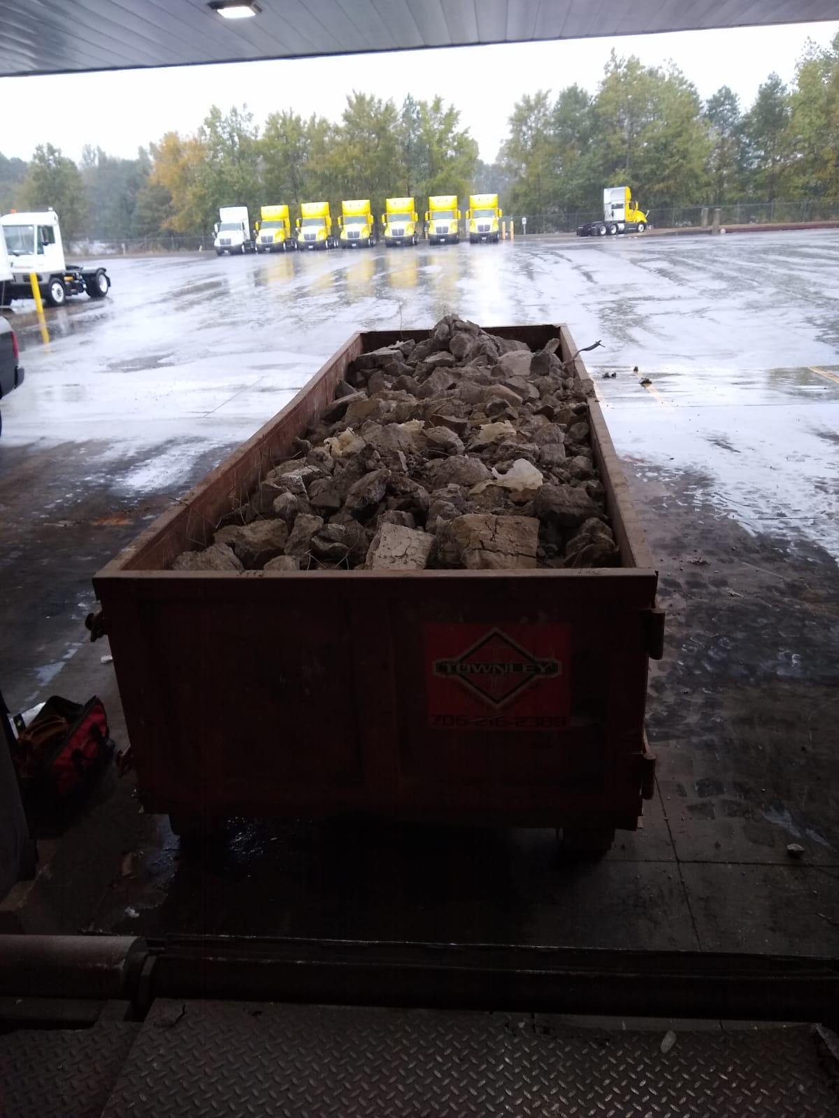 Disposal of debris