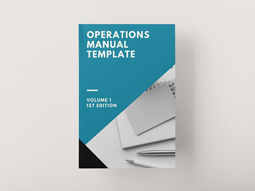 Operations Manual Template