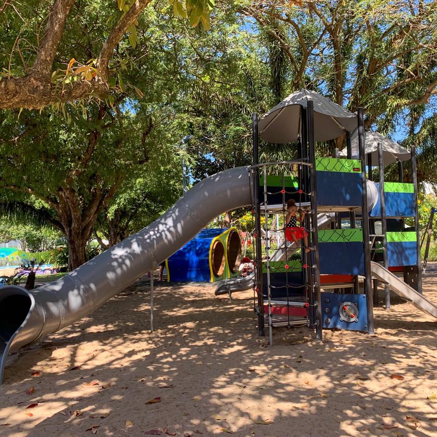 Muddy's playground close by