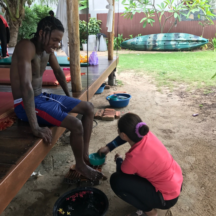 massages on Crystal Beach