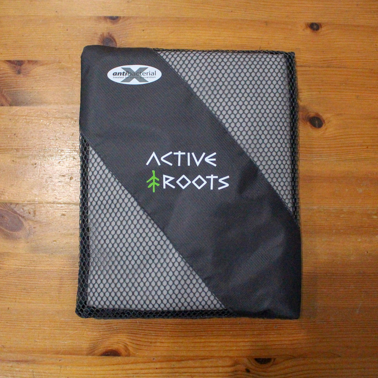 Active Roots Towel Mesh Bag