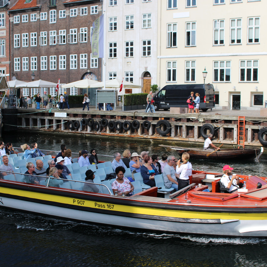 Boat tours on Nyhavn canal