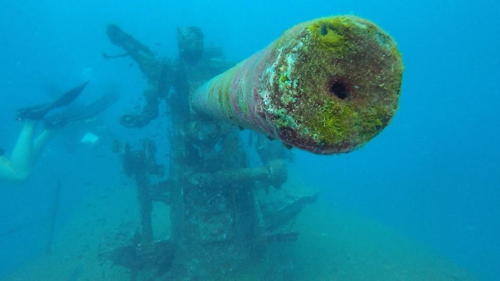 Scuba Diving in Koh Samui, Thailand.