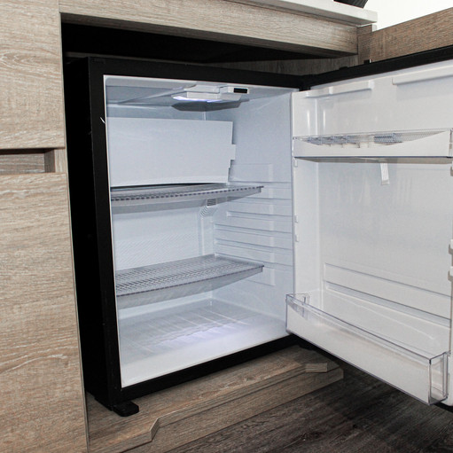 Refrigerator in room