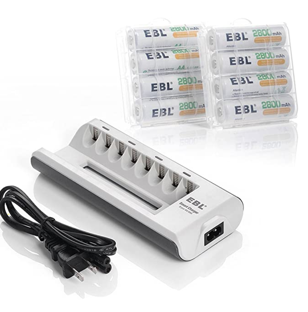 Reusable batteries