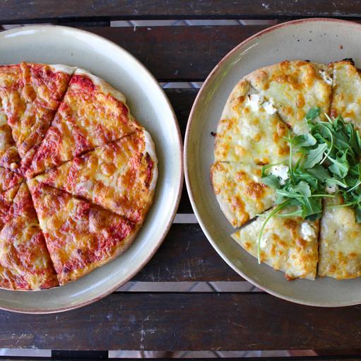 Pizza at Moku