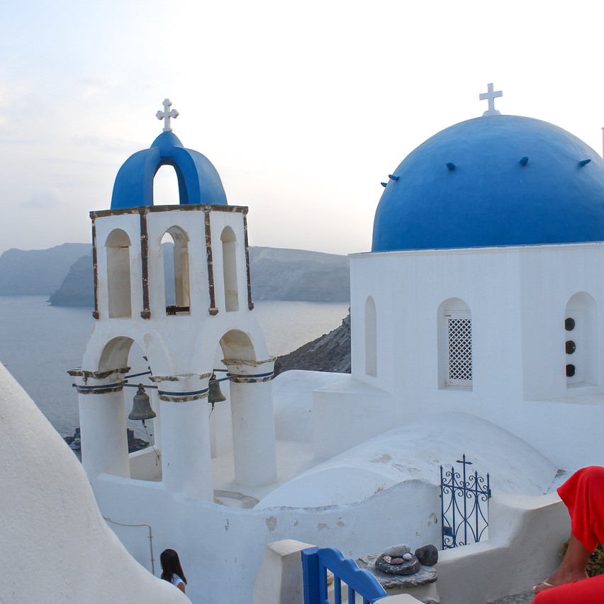 Churches in Oia