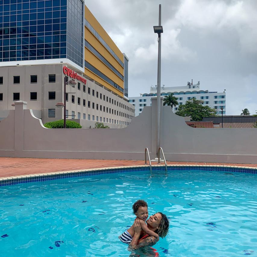 Pool at Airbnb