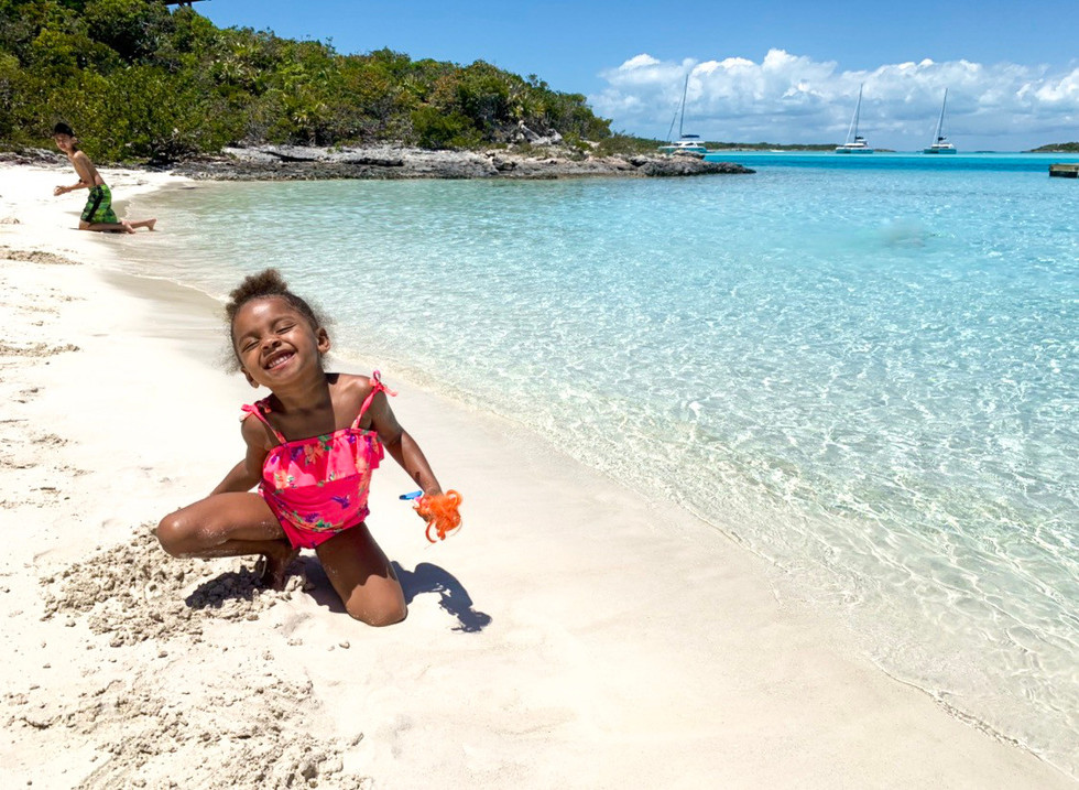 Visiting the Exuma With Kids