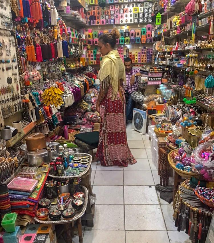 shopping in Jemaa el-Fnaa
