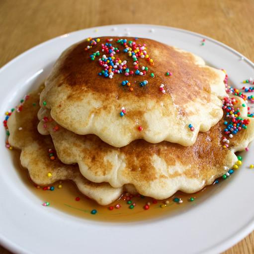 Breakfast buffet- self pancake maker