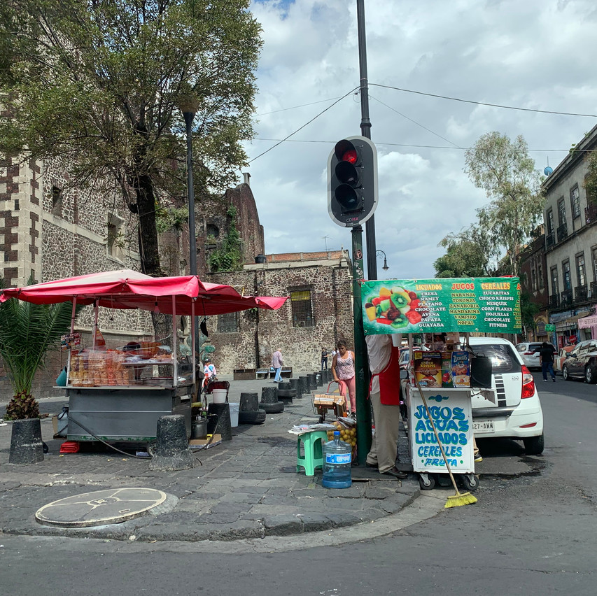 downtown Mexico
