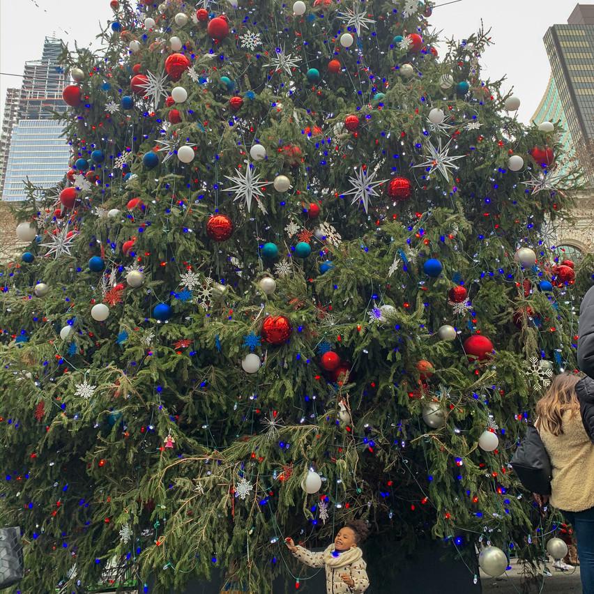 Christmas Tree at Bryant Park