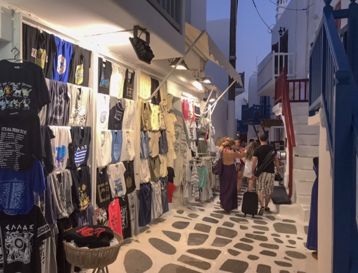 shopping in the Old Town
