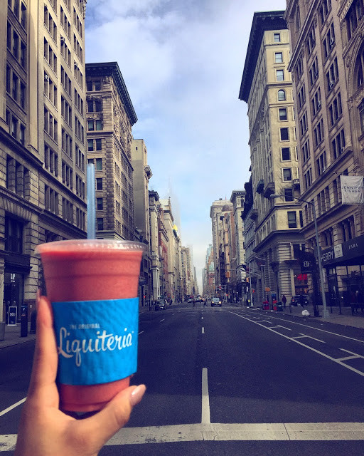 DITCH THE COFFEE FOR STARTERS AND GET A SMOOTHIE!