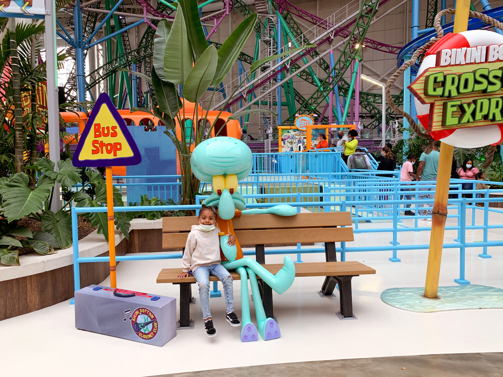 Nickelodeon Universe in The American Dream Mall