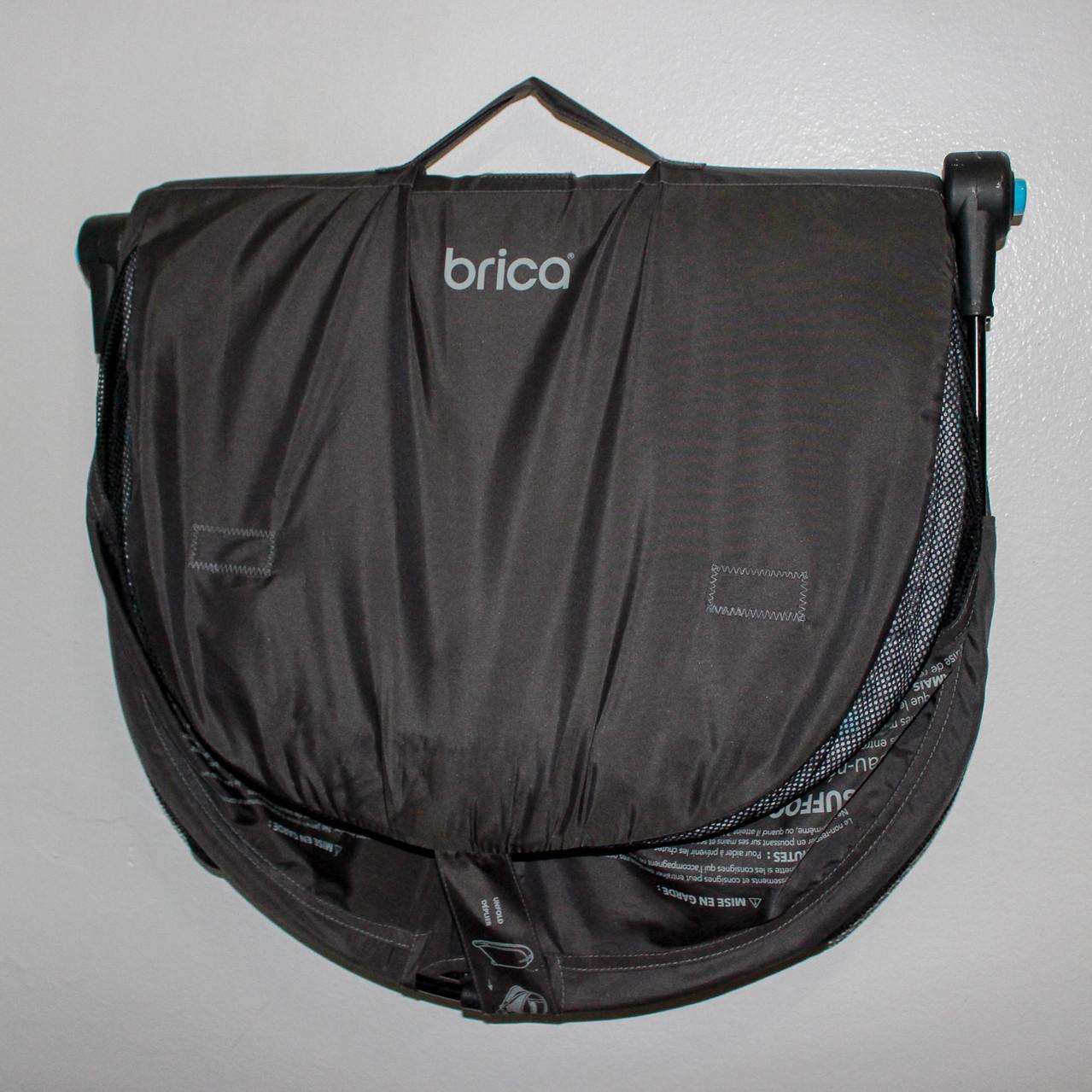 Travel Bassinet Folded ready to Go