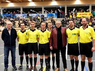 Donau-Schiedsrichter bei bayerischer Futsal Hallenmeisterschaft 2019