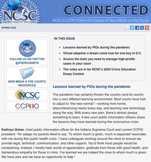 Connected Newsletter