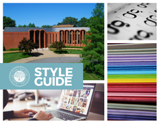 Style Guide Postcard (front)
