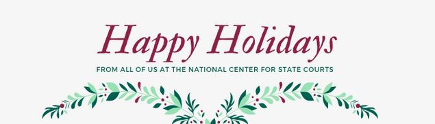 Holiday banner header