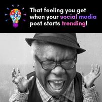 Excitement of social media
