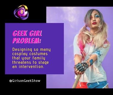 GGP = Geek Girl Problem