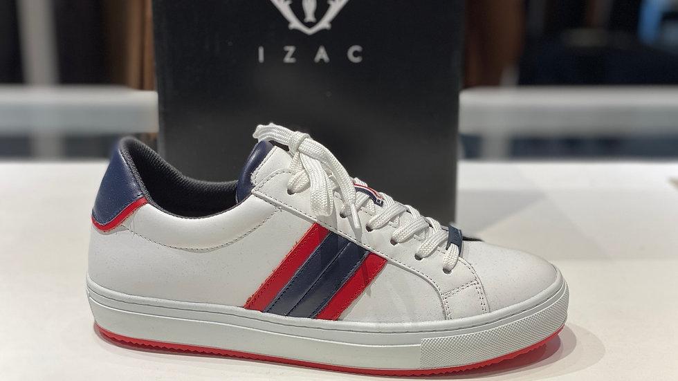 Sneackers  blanc-marine -rouge