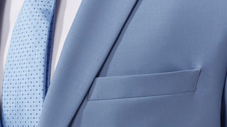 Costume IZAC bello bleu ciel /vert