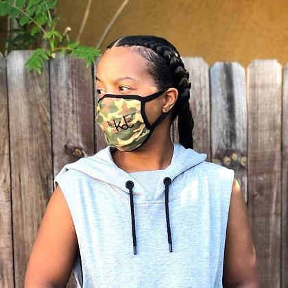 KDD Camo Face Masks