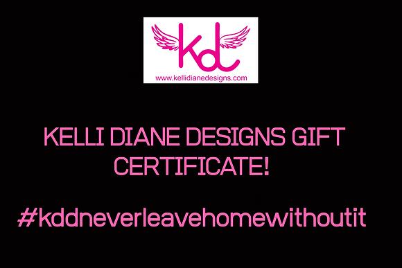 KDD Gift Certificate